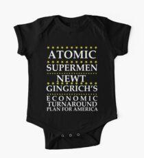 Newt Gingrich - Atomic Supermen One Piece - Short Sleeve