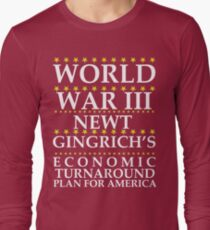 Newt Ginrich - World War III T-Shirt