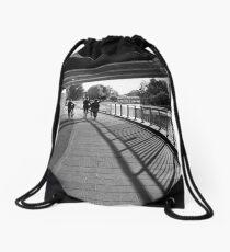 Under the bridge Drawstring Bag