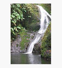 Rarotonga waterfall Photographic Print