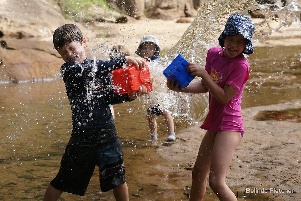 Water Fight by Belinda Fletcher