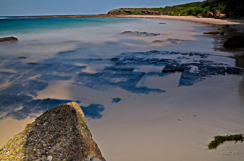 Coal Seam, Catherine Hill Bay by bazcelt