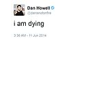Ich sterbe Dan Howell von musicalphan
