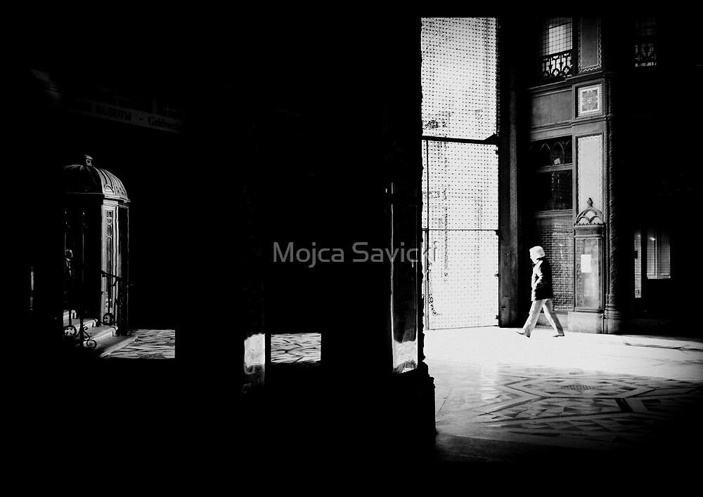 A Man Leaving... by Mojca Savicki