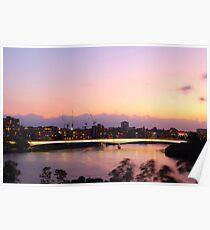 Brisbane Captain Cook Bridge Poster