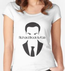 Richard Brook Is A Lie #2 Women's Fitted Scoop T-Shirt