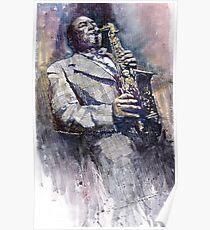 Jazz Saxophonist Charlie Parker Poster