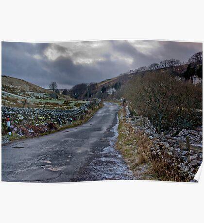 Country Road - Keld Poster