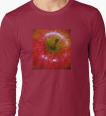 Braeburn Apple Macro Long Sleeve T-Shirt