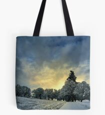 Something Big In The Air Tote Bag