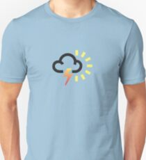 The weather series - Occasional thunderstorms, with sunny outbreaks T-Shirt
