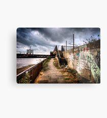Woolwich Embankment Metal Print