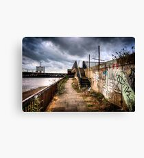 Woolwich Embankment Canvas Print