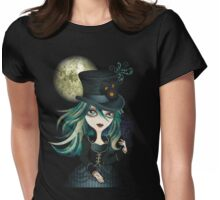Raven's Moon Womens Fitted T-Shirt