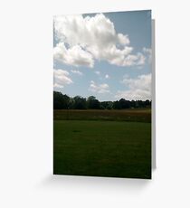 Burwash Landscape - Batemans Greeting Card