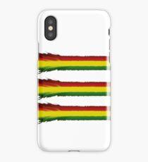 Ragga print iPhone Case/Skin
