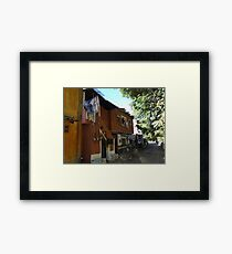 Down By The Riverside - Cerca Del Rio Framed Print