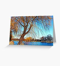 Weeping Willow © Greeting Card