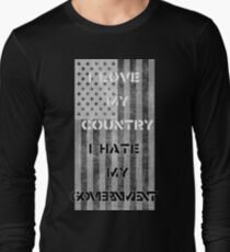 Love & Hate  Long Sleeve T-Shirt