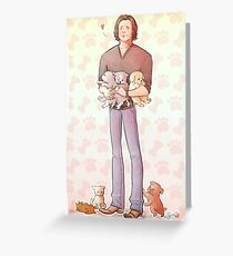 Puppies! Greeting Card