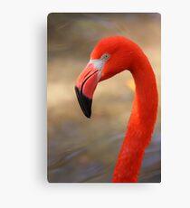 Flamingo Profile Canvas Print