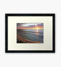 Ocean Ambience Framed Print
