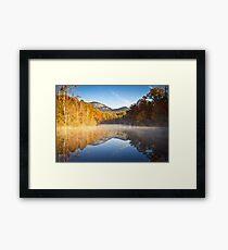 Table Rock State Park Autumn Sunrise - Balance Framed Print