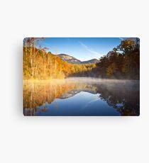 Table Rock State Park Autumn Sunrise - Balance Canvas Print
