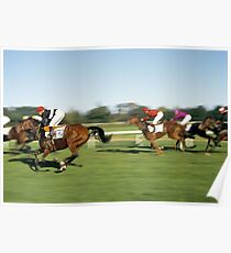 Horse Racing, Germany, 1980s. Poster