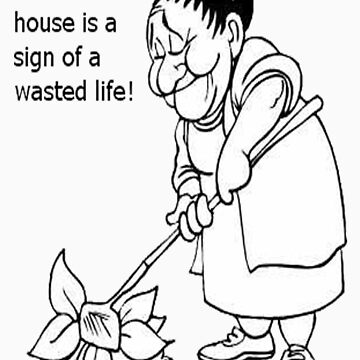 old woman cartoon  by kamoore83