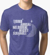 Night Scramble Tri-blend T-Shirt