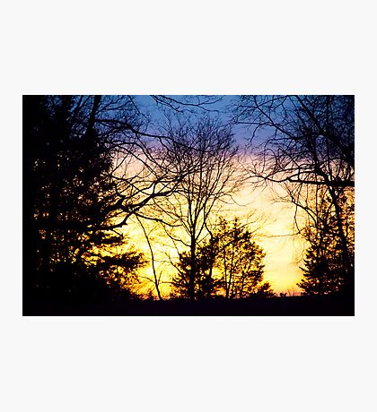 Layers Of A Sunset Photographic Print