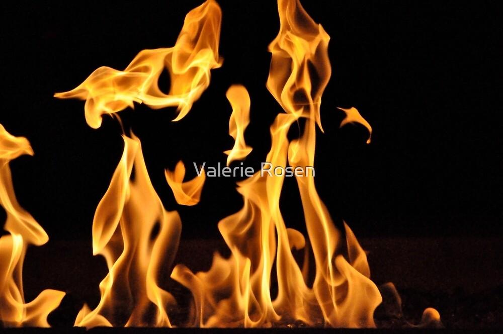 Dancing Flames by Valerie Rosen