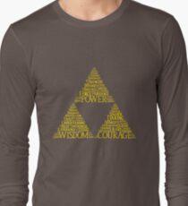 Green Synonymous Long Sleeve T-Shirt