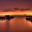 Sunrise, Nassau Harbour, Nassau, Bahamas by Shane Pinder