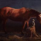A Horse and His Cat by Sue Deutscher