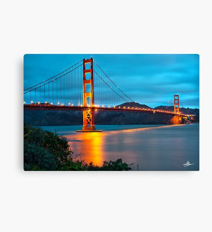 The Golden Gate - San Francisco, California Canvas Print