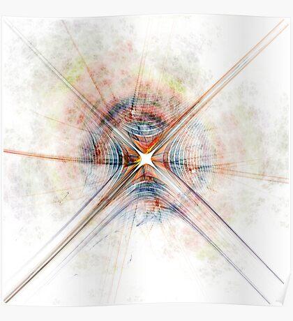 Cosmic Fingerprint Poster