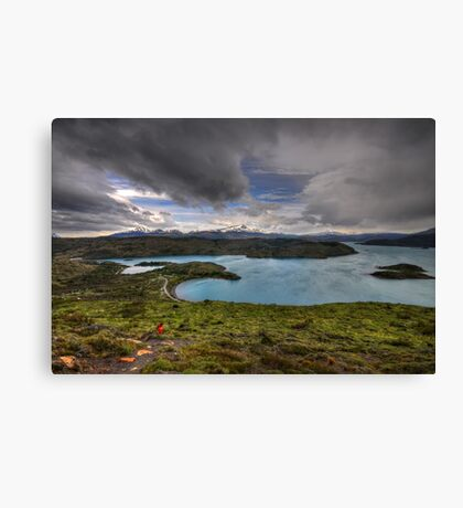 The Lakes of Torres del Paine #3 Canvas Print