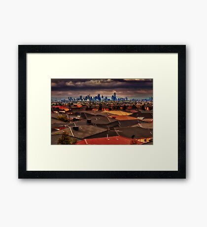 Invasion Of The West Framed Print