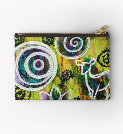 The Deer and the Lotus - Inner Power Painting Studio Pouch