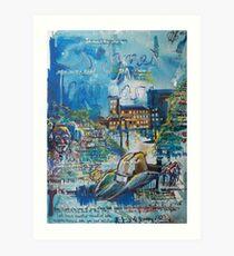 St James Infirmary Art Print