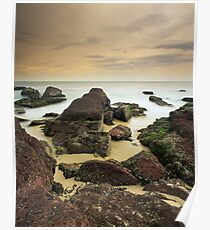 """""""A Journey's End"""" ∞ Haycock Point, NSW - Australia Poster"""