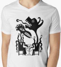 Cafe Culture V-Neck T-Shirt