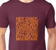 Cabin Pressure: Hey Chief Unisex T-Shirt