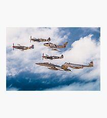 RAAF History Flight Formation Photographic Print