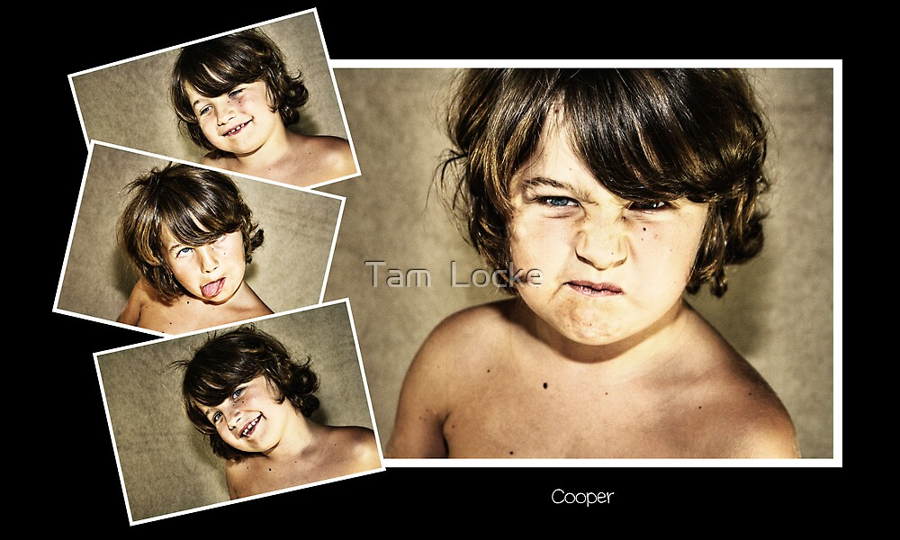 """Never work with children or animals"" - Cooper by Tam  Locke"