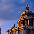 St Paul's Dome in Colour, London, UK by strangelight