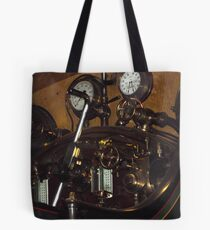 Dials in the engine compartment  Tote Bag