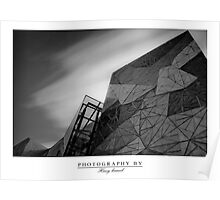 Moving Clouds ( Federation Square )   Poster
